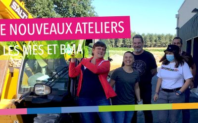 De nouveaux ateliers MES & BMA !