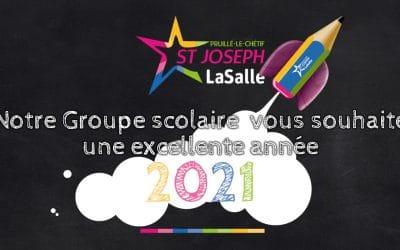 Vœux St Jo' 2021 !