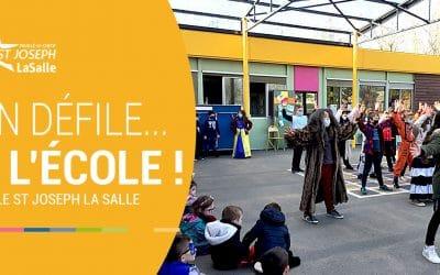 Carnaval coloré à l'ÉCOLE St Jo' !