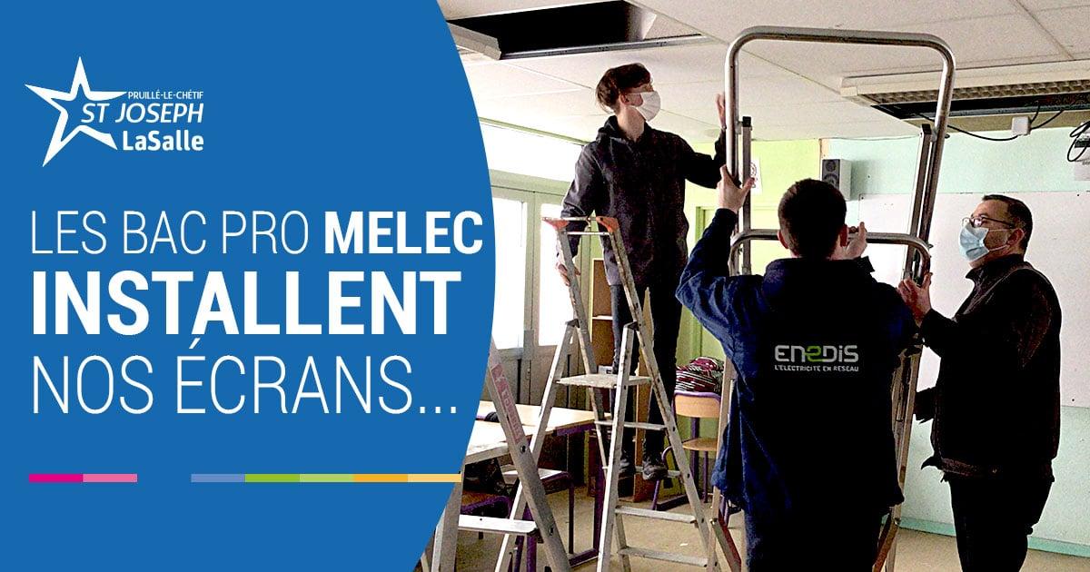 bac MELEC projet ecrans