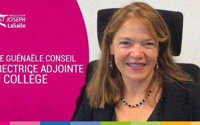 Mme Conseil, Directrice Adjointe du Collège…